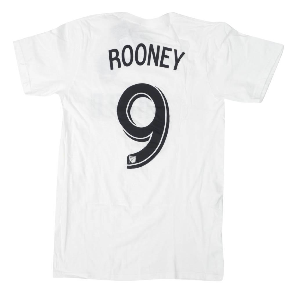 あす楽対応 メジャー リーグ サッカー MLS グッズ ウェイン ルーニー おトク DCユナイテッド ホワイト アディダス Jersey Tシャツ OCSL Adidas Tee NN 高品質