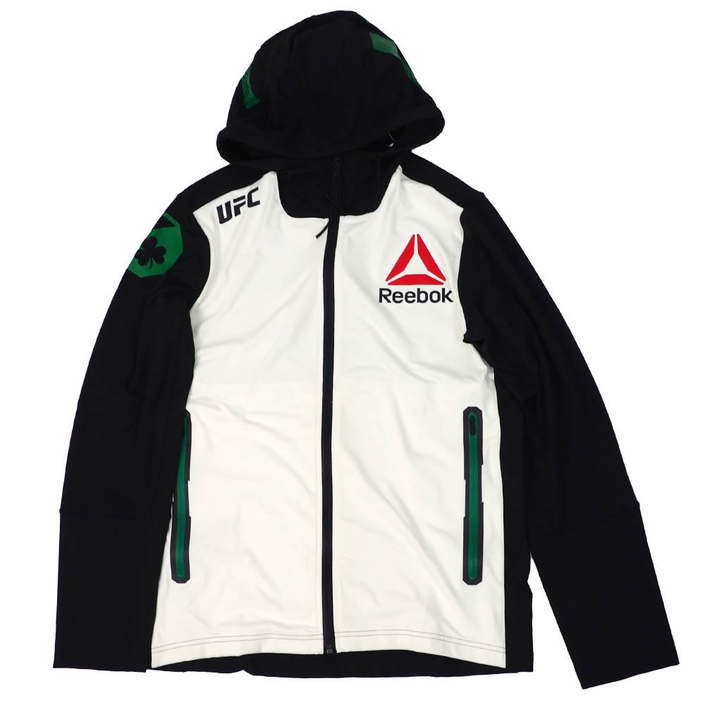 UFC コナー・マクレガー パーカー/フーディー Fight Kit Walkout Hoodie リーボック/Reebok ブラック