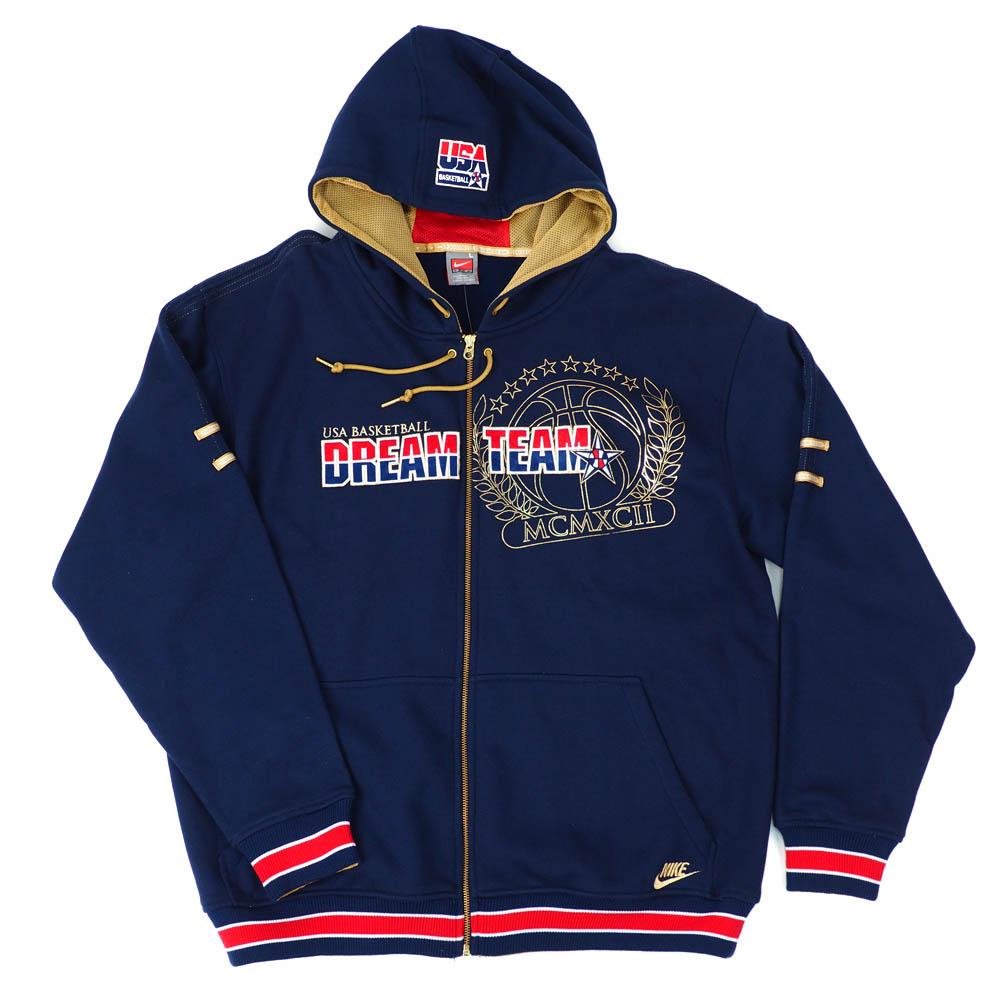 USA BB アメリカ代表 パーカー/フーディー Dream Team MCMCII Hoodie ドリームチーム ナイキ/Nike ネイビー