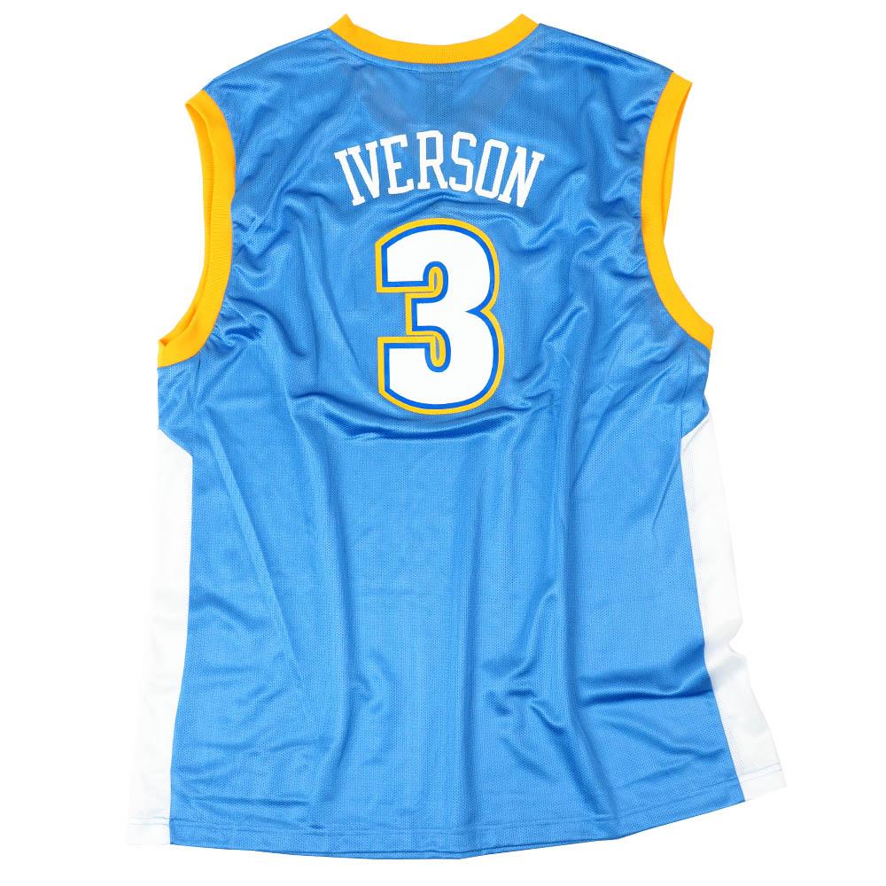 NBA アレン・アイバーソン デンバー・ナゲッツ ユニフォーム/ジャージ Replica Jersey リーボック/Reebok ロード