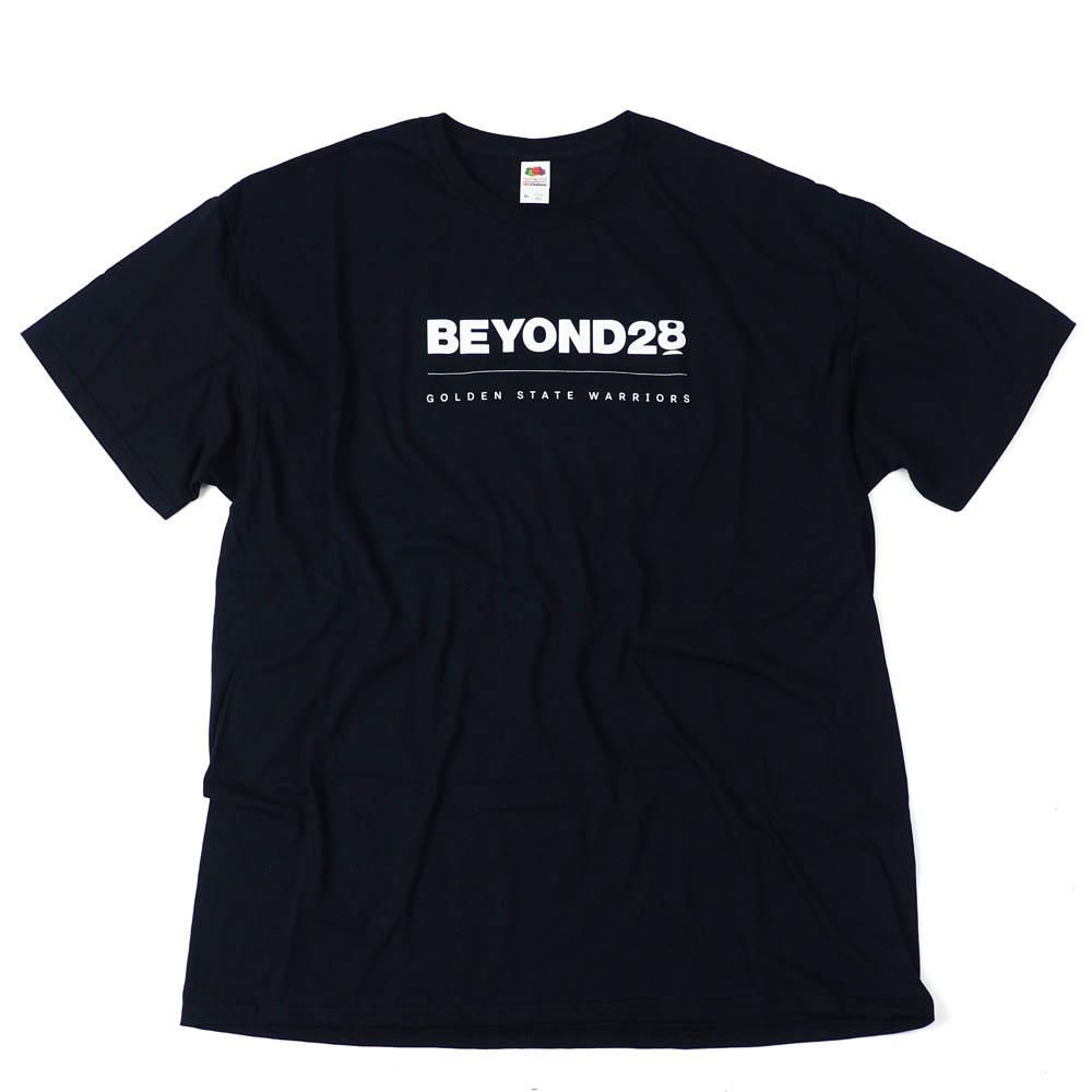 NBA ゴールデンステイト・ウォリアーズ Tシャツ Beyond 28 SGA ブラック