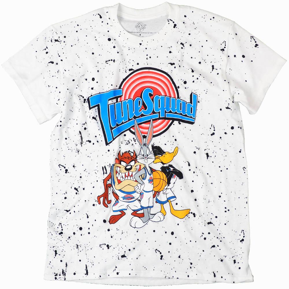 スペース・ジャム Movie Tシャツ バッグス・バニー, ダフィー・ダック, タスマニア・デビル