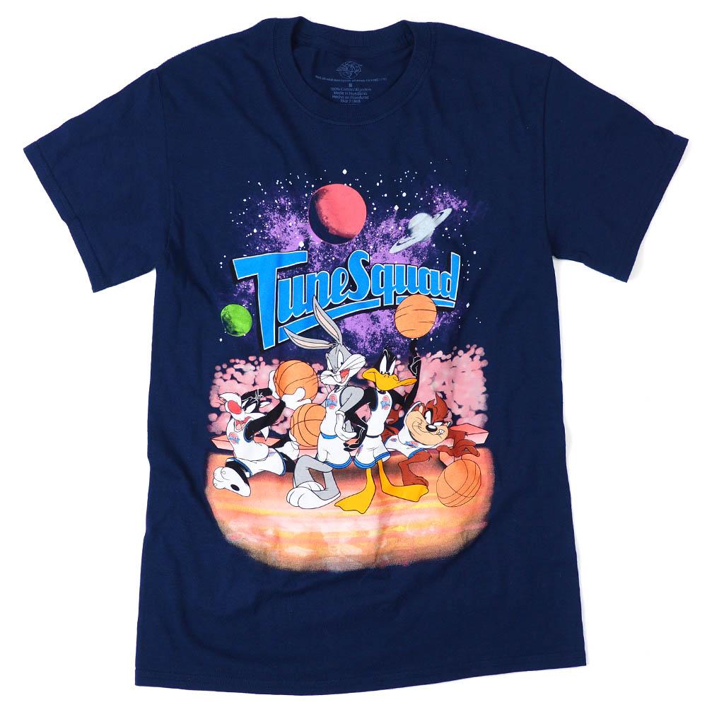 スペース・ジャム Movie Tシャツ スペース・ジャム ユニバーサル ネイビー