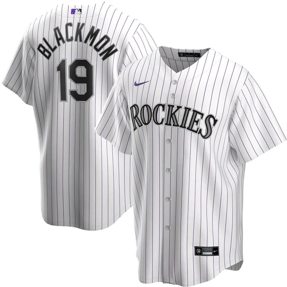 MLB チャーリー・ブラックモン コロラド・ロッキーズ ユニフォーム/ジャージ 2020 レプリカ プレーヤー ナイキ/Nike ホワイト