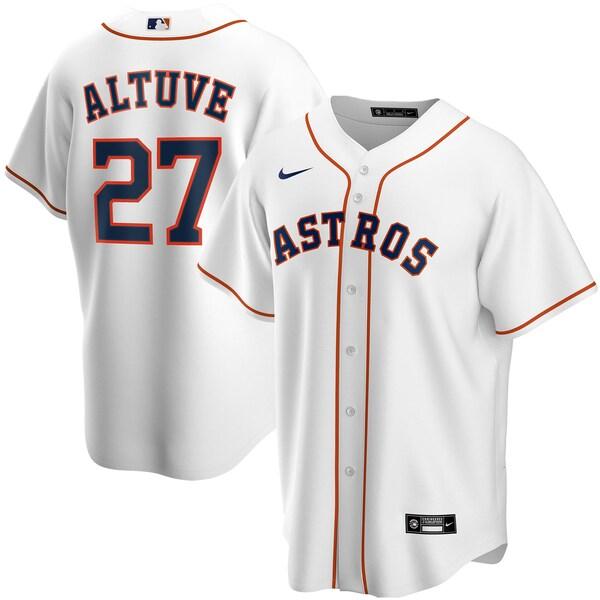 MLB ホセ・アルテューベ ヒューストン・アストロズ ユニフォーム/ジャージ 2020 レプリカ プレーヤー ナイキ/Nike ホワイト