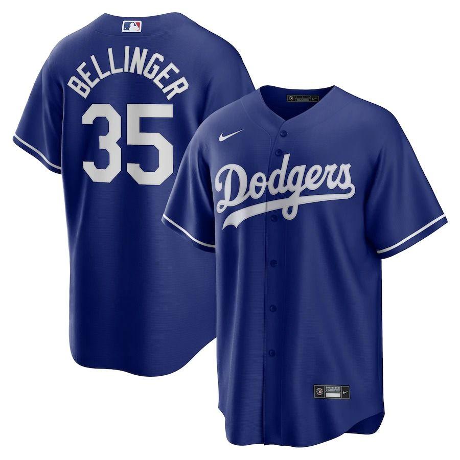 MLB コディ・ベリンジャー ロサンゼルス・ドジャース ユニフォーム/ジャージ 2020 レプリカ プレーヤー ナイキ/Nike ロイヤル