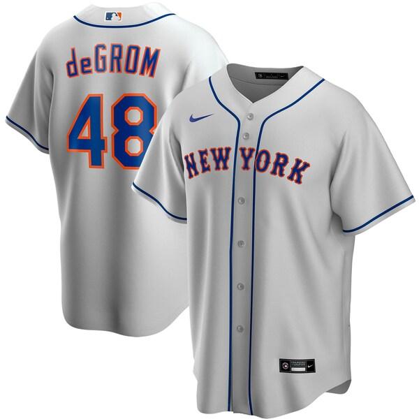 MLB ジェイコブ・デグロム ニューヨーク・メッツ ユニフォーム/ジャージ 2020 レプリカ プレーヤー ナイキ/Nike グレー
