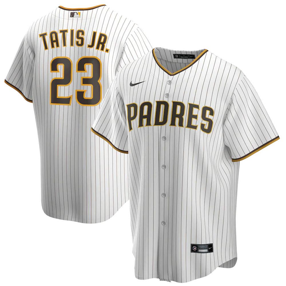 MLB フェルナンド・タティス・ジュニア サンディエゴ・パドレス ユニフォーム/ジャージ 2020 レプリカ プレーヤー ナイキ/Nike ホワイト
