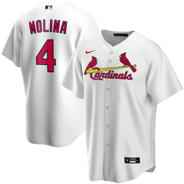 MLB ヤディエル・モリーナ セントルイス・カージナルス ユニフォーム/ジャージ 2020 レプリカ プレーヤー ナイキ/Nike ホワイト