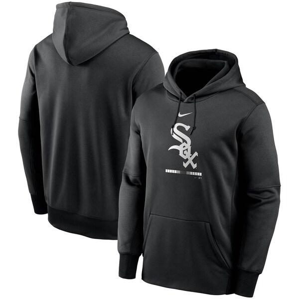 MLB シカゴ・ホワイトソックス パーカー/フーディー レガシー サーマ パフォーマンス プルオーバー ナイキ/Nike ブラック
