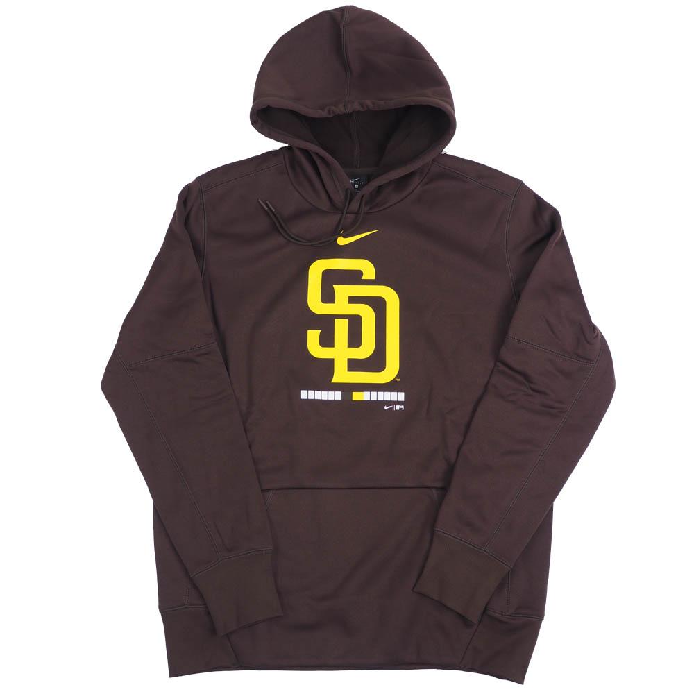 MLB サンディエゴ・パドレス パーカー/フーディー レガシー サーマ パフォーマンス プルオーバー ナイキ/Nike ブラウン