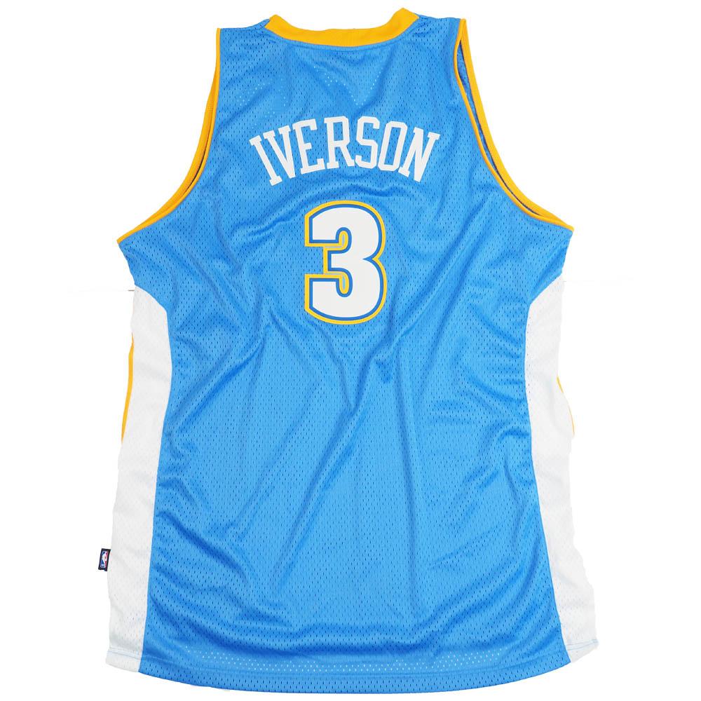 NBA アレン・アイバーソン デンバー・ナゲッツ ユニフォーム/ジャージ スウィングマン アディダス/Adidas ロード