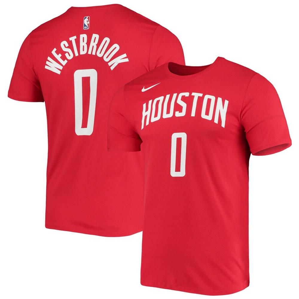 NBA ラッセル・ウェストブルック ヒューストン・ロケッツ Tシャツ シティ エディション ネーム & ナンバー ナイキ/Nike レッド