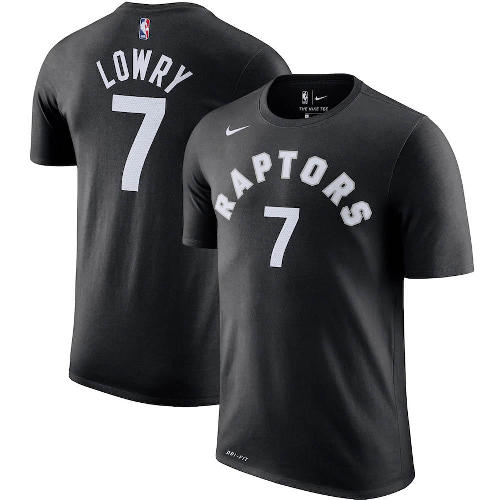 NBA カイル・ロウリー トロント・ラプターズ Tシャツ プレーヤー ネーム & ナンバー? ナイキ/Nike ブラック