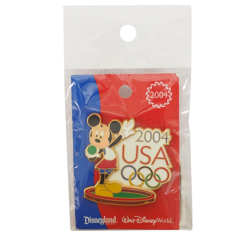 アメリカ代表 ディズニー 2004 アテネ USA Decathlon Sereis Pin : Shotput ピンバッチ ピンズ Disney
