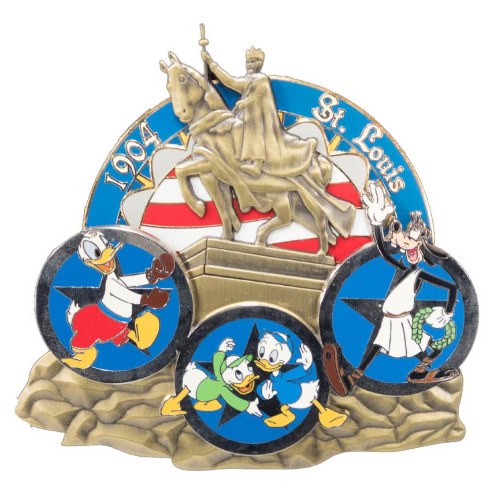 アメリカ代表 ディズニー USA Jumbo 2004 Pin LE 750 : 1904 セントルイス ピンバッチ ピンズ Disney