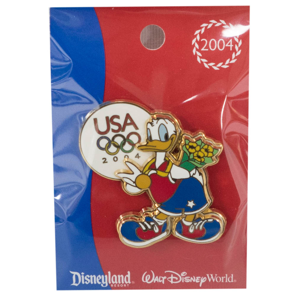 アメリカ代表 ディズニー Mickey's All American Pin : Donald Duck ピンバッチ ピンズ Disney