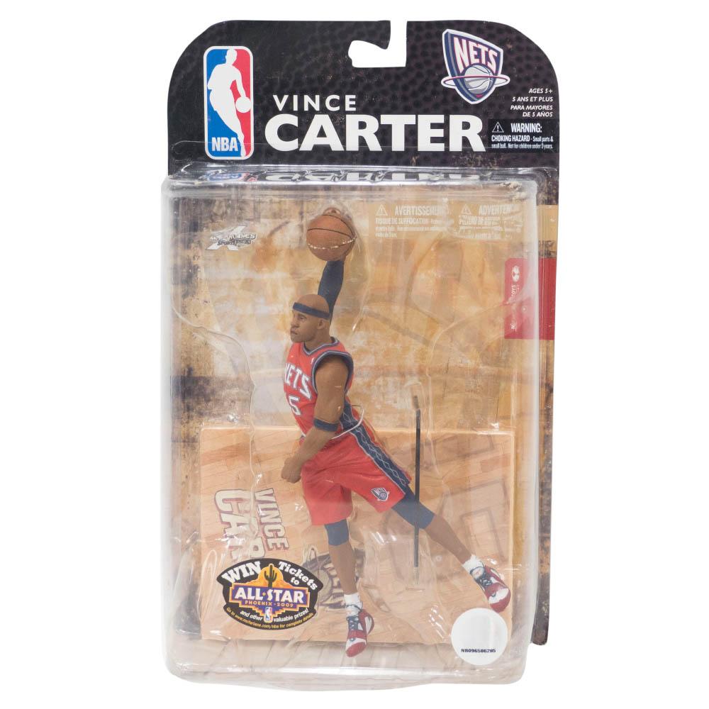 NBA ヴィンス・カーター ニュージャージー・ネッツ フィギュア Series 15 フィギュア McFarlane オルタネート