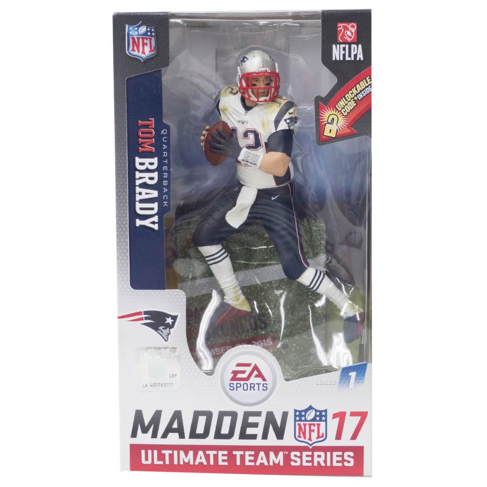 NFL トム・ブレイディ ペイトリオッツ フィギュア EA Sports 17 Ultimat Team Series 1 フィギュア マクファーレン/McFarlane ロード