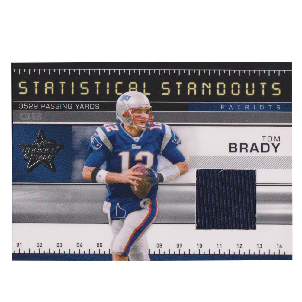 NFL トム・ブレイディ ペイトリオッツ トレーディングカード/スポーツカード 【1点物】2007 ジャージ カード 156/250 Donruss