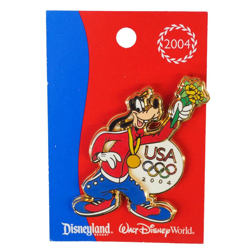 グーフィー USA ディズニー2004 アテネ Mickey's All American Pin ピンズ ピンバッチ