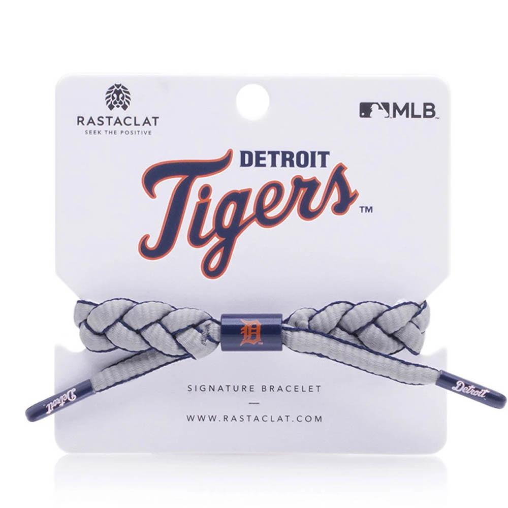 チームカラーで編み込んだMLBブレスレット MLB デトロイト 限定タイムセール タイガース RASTACLAT クラシック ブレイデッド セットアップ ブレスレット