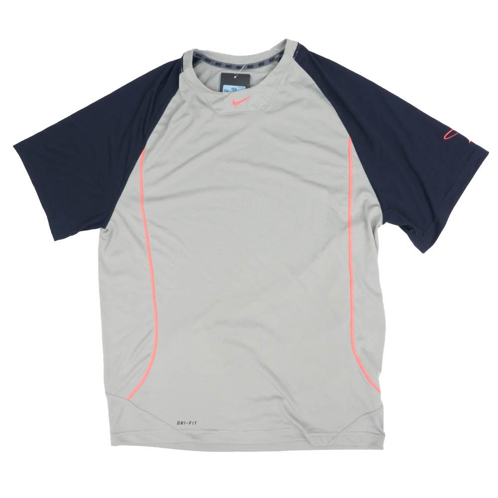 Nike GRIFFEY ケン・グリフィー・ジュニア Tシャツ スイングマン S/S トレーニング グレー/ブラック 512550-082
