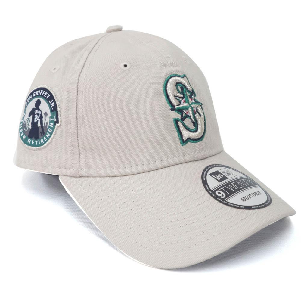 MLB ケン・グリフィー シアトル・マリナーズ キャップ/帽子 引退記念 9TWENTY Adjustable Hat ニューエラ/New Era Beige