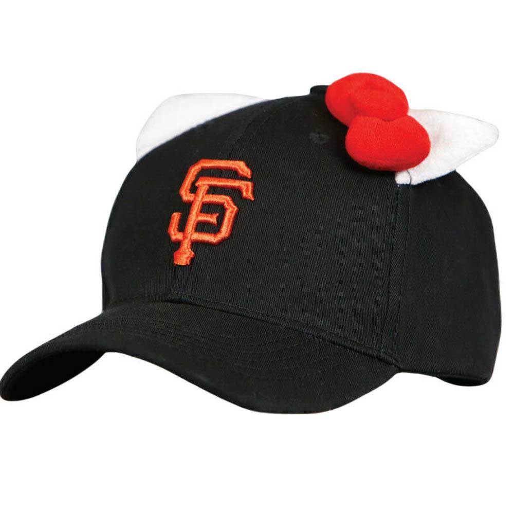 MLB サンフランシスコ・ジャイアンツ キャップ/帽子 2018 ハローキティ SGA ブラック