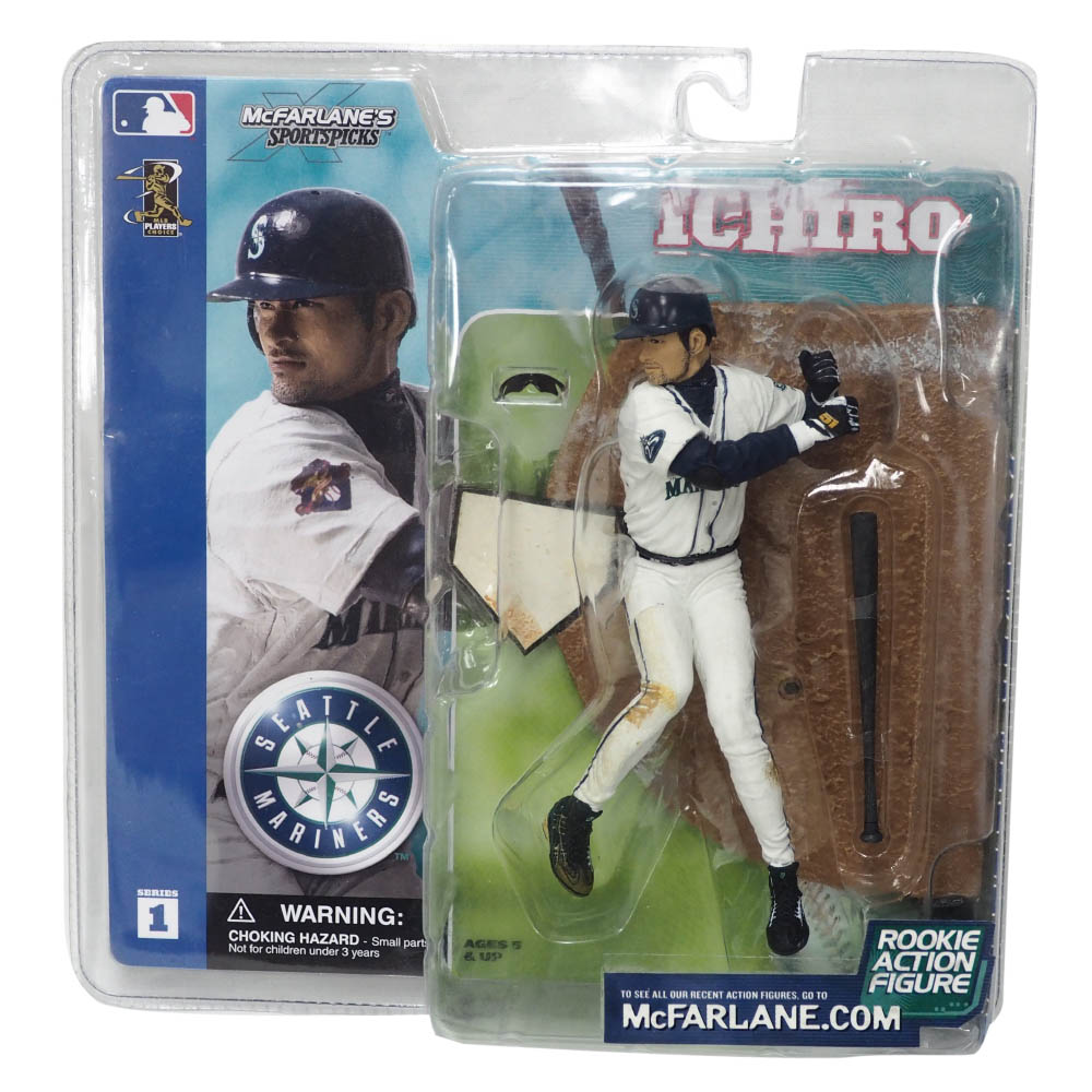 MLB イチロー シアトル・マリナーズ フィギュア Figure(Series1) McFarlane ホーム