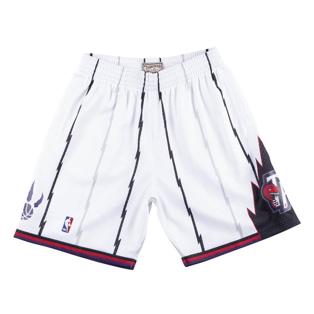 NBA トロント・ラプターズ ショートパンツ/ショーツ スウィングマン ミッチェル&ネス/Mitchell & Ness ホワイト