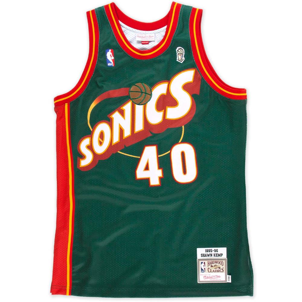 NBA ショーン・ケンプ シアトル・スーパーソニックス ユニフォーム/ジャージ スウィングマン ミッチェル&ネス/Mitchell & Ness