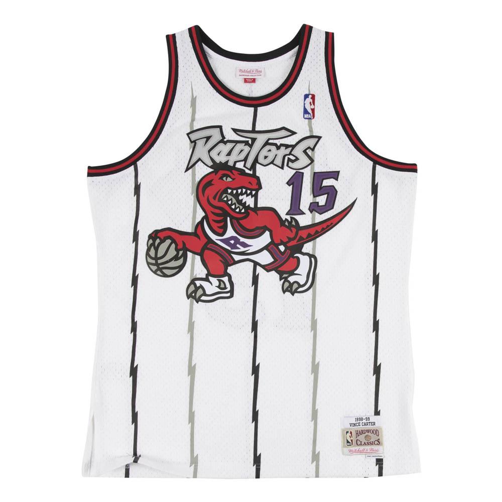 NBA ヴィンス・カーター トロント・ラプターズ ユニフォーム/ジャージ スウィングマン ミッチェル&ネス/Mitchell & Ness ホワイト