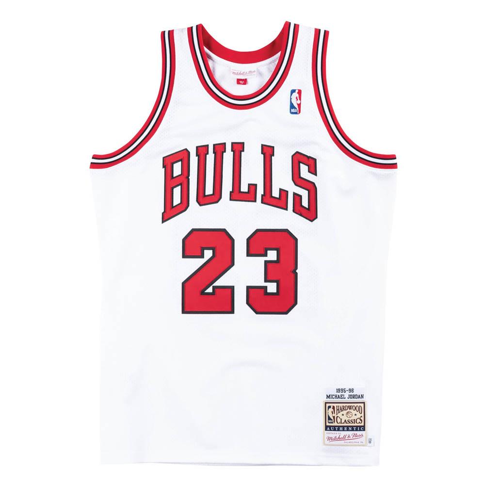 NBA マイケル・ジョーダン シカゴ・ブルズ ユニフォーム/ジャージ 1995-1996 オーセンティック 復刻 ミッチェル&ネス/Mitchell & Ness