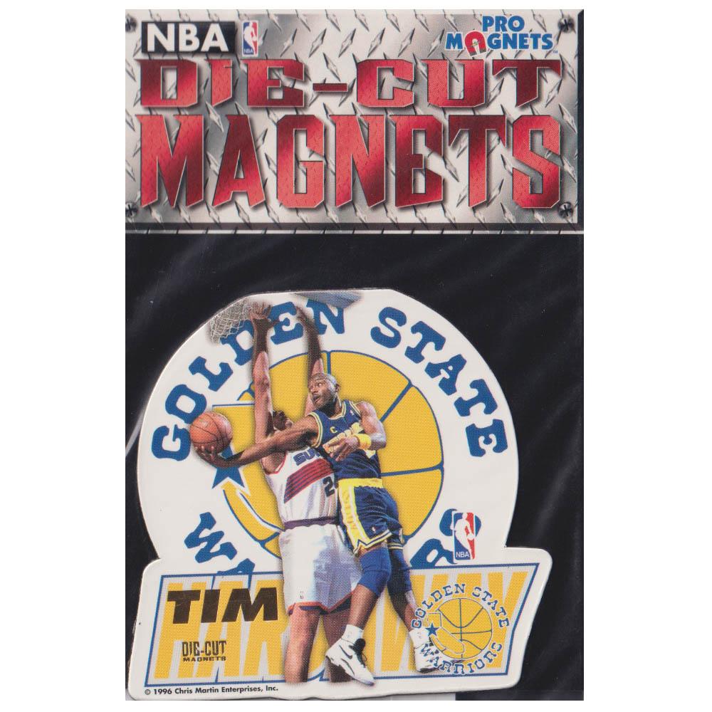 あす楽対応 激レアストック NBA1996のマグネット NBA ティム ハーダウェイ ゴールデンステイト 《週末限定タイムセール》 Cut マグネット ランキングTOP5 Magnets Pro ウォリアーズ 1996 Die