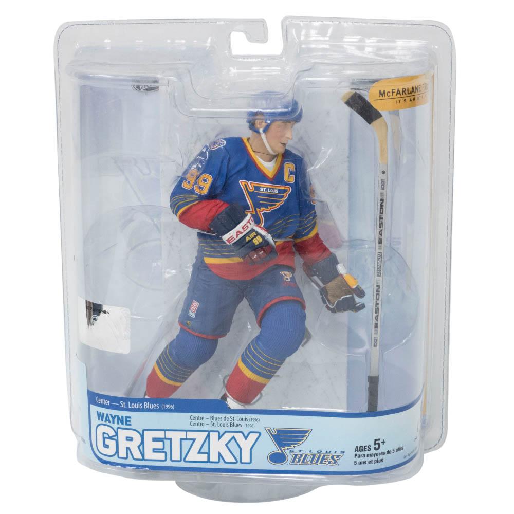 NHL ウェイン・グレツキー ブルース フィギュア Legends Series 5 マクファーレン/McFarlane ロード
