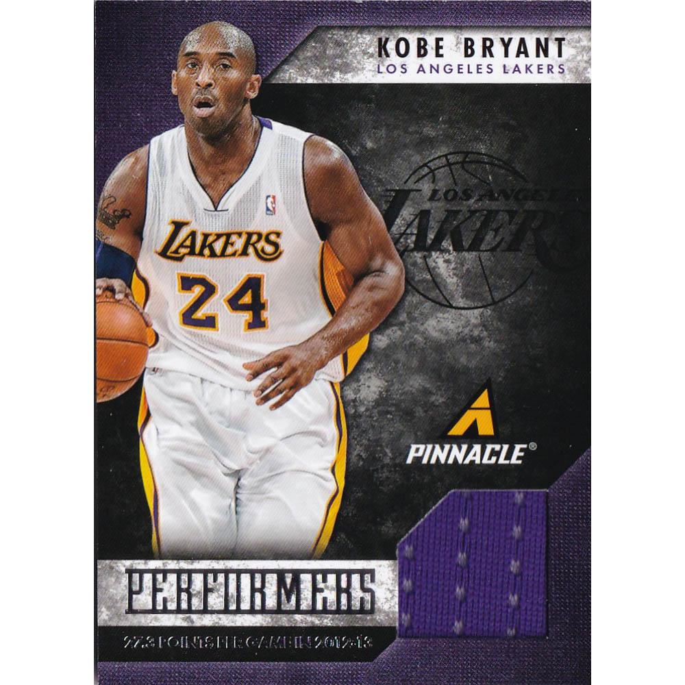 NBA コービー・ブライアント レイカーズ トレーディングカード/スポーツカード 2013 Kobe Jersey #10 Panini