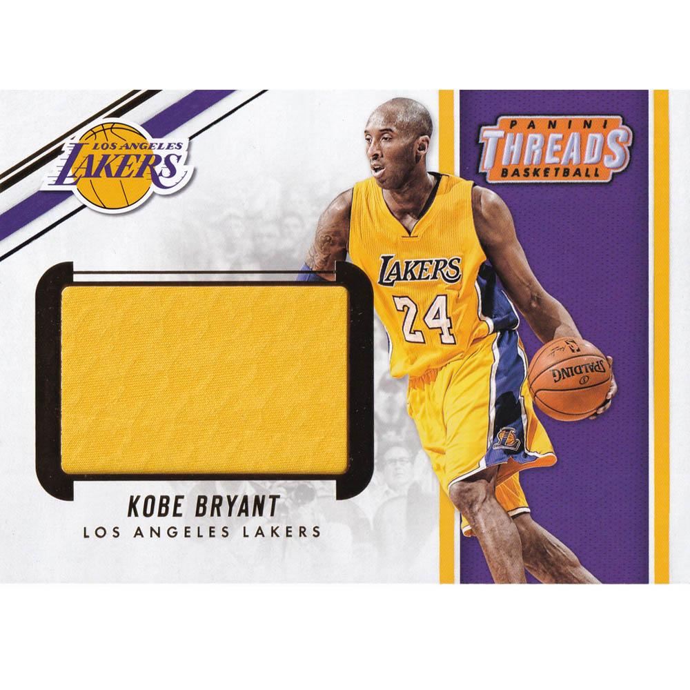 NBA コービー・ブライアント レイカーズ トレーディングカード/スポーツカード Threads Kobe #BTM-KBR Panini