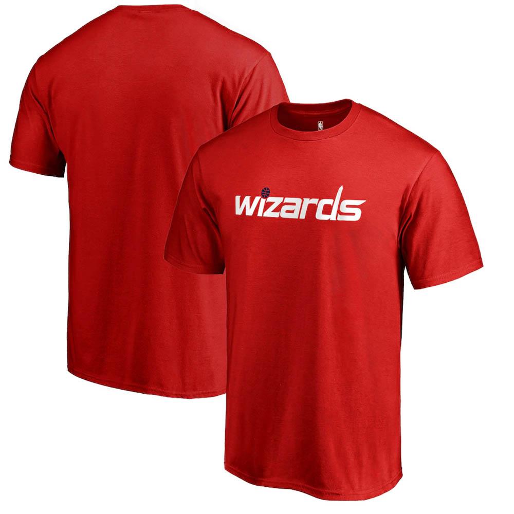八村塁選手所属 ウィザーズ NBA Tシャツ プライマリー ワードマーク レッド