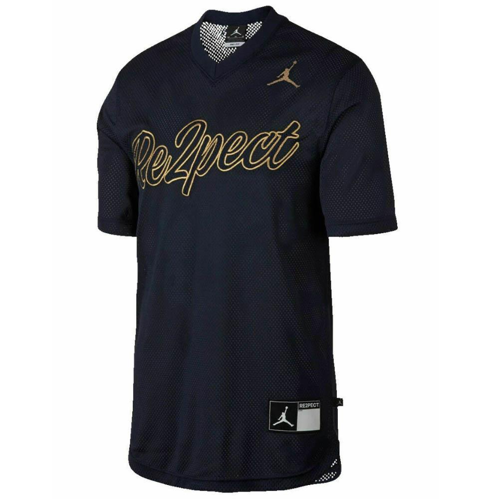 JORDAN デレク・ジーター ユニフォーム/ジャージ Jordan Re2Pect ベースボールジャージー ナイキ/Nike Navy/Gold