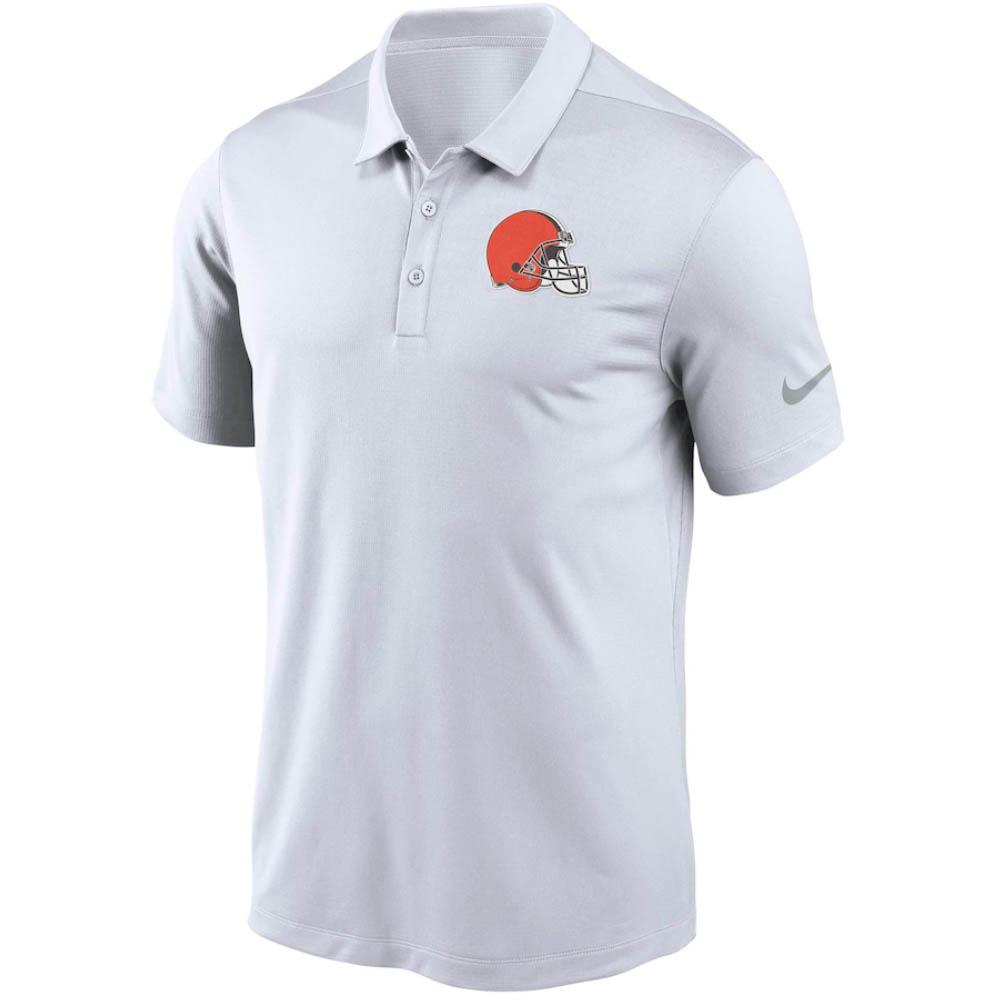 NFL ブラウンズ チーム ロゴ フランチャイズ ポロシャツ ナイキ/Nike ホワイト NKNB-CL8
