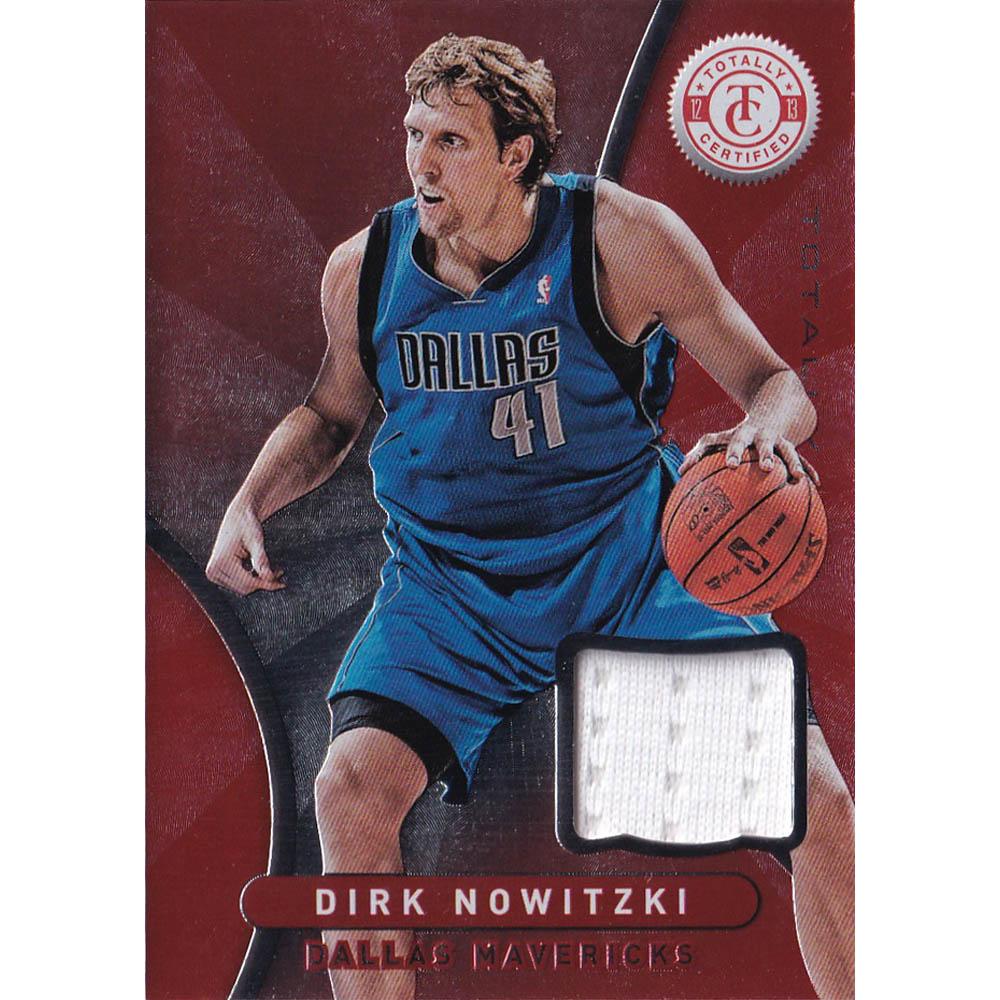 NBA ダーク・ノビツキー ダラス・マーベリックス トレーディングカード 2012-13 Totally Certified Memorabilia Card Panini