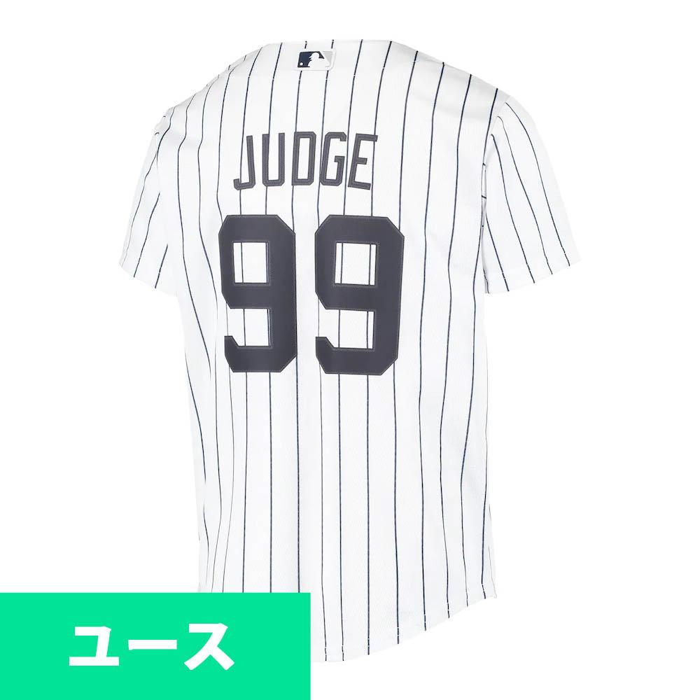 MLB アーロン・ジャッジ ニューヨーク・ヤンキース ユニフォーム/ジャージ Youth 2020 Replica Player ナイキ/Nike ホーム(ホワイト)