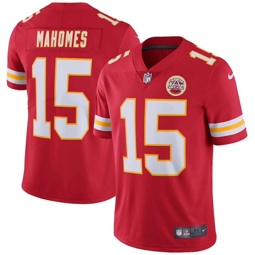 NFL パトリック・マホームズ チーフス ユニフォーム/ジャージ Vapor Untouchable Limited Player Jersey ナイキ/Nike レッド