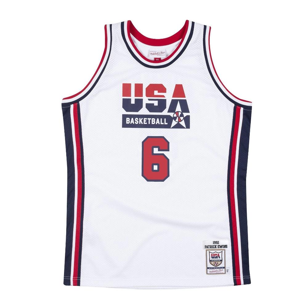 USABB パトリック・ユーイング 1992 アメリカ代表 ユニフォーム/ジャージ オーセンティック USA 1992 ドリームチーム ミッチェル&ネス