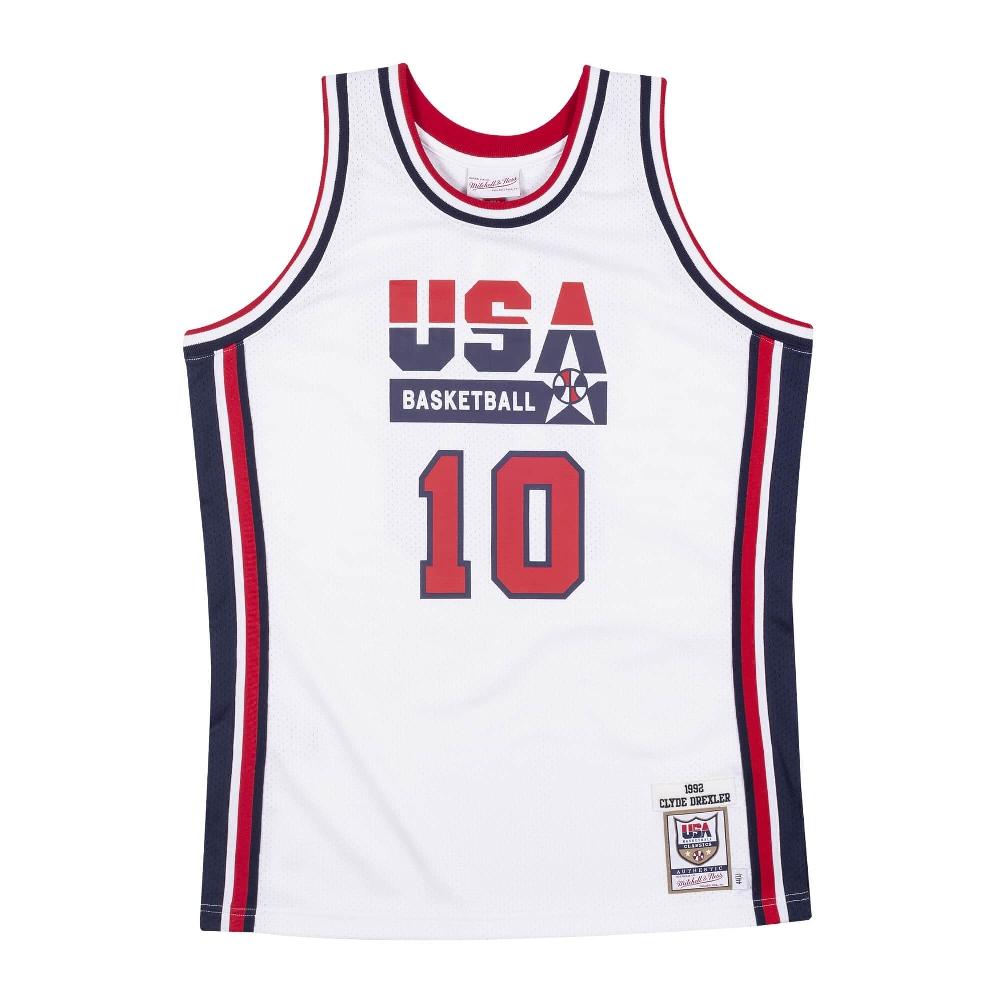 USABB クライド・ドレクスラー 1992 アメリカ代表 ユニフォーム/ジャージ オーセンティック USA 1992 ドリームチーム ミッチェル&ネス