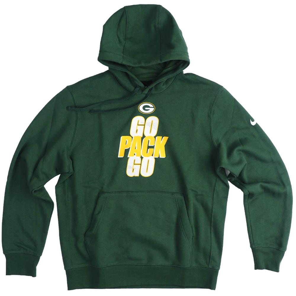 NFL パッカーズ パーカー/フーディー Slogan Pullover Hoodie ナイキ/Nike グリーン NKDK-CMD【OCSL】:映画エンタメショップ SELECTION