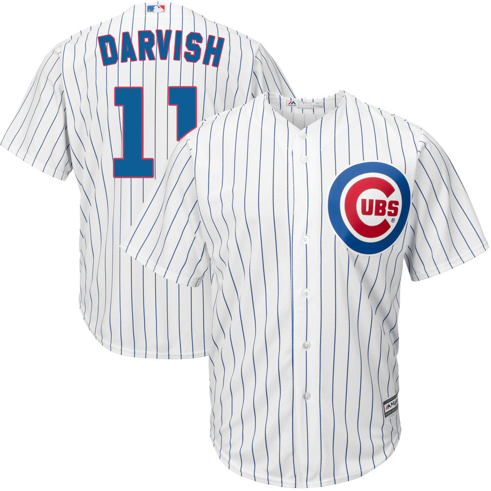リニューアル記念メガセール ダルビッシュ有 カブス ユニフォーム ユニホーム MLB マジェスティック Majestic レプリカ ホーム