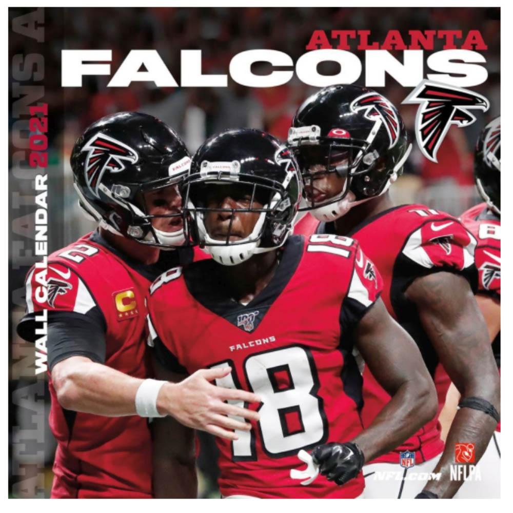 あす楽対応 NFLのチーム壁掛けカレンダー 2021年度版 ファルコンズ 格安 カレンダー NFL 一部予約 壁掛け Turner インテリア 2021年版 チーム ポスター