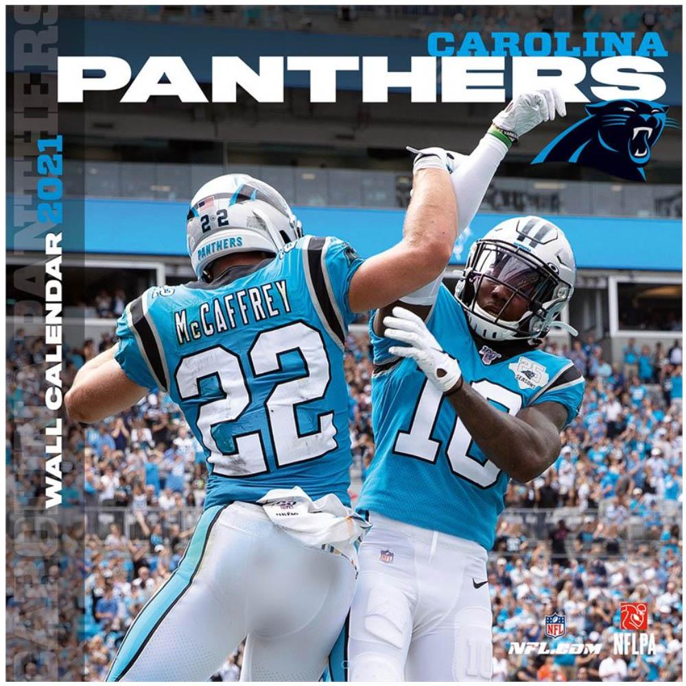 あす楽対応 NFLのチーム壁掛けカレンダー 5☆好評 2021年度版 パンサーズ カレンダー NFL 引出物 壁掛け チーム インテリア 2021年版 Turner ポスター
